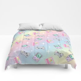 Magical Girl Gaming Rainbow Comforters