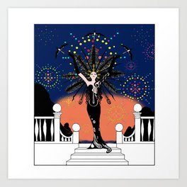 erte art prints society6