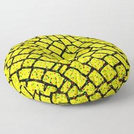 Yellow Brick Road Floor Pillow