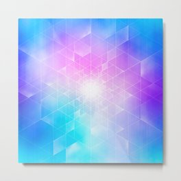 Synthesize Metal Print
