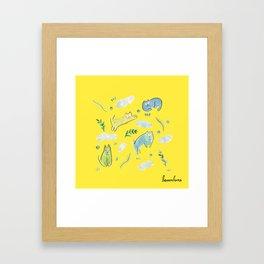 sunday mood Framed Art Print