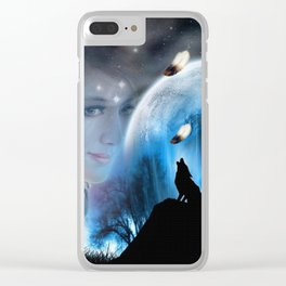 Sounds of the Dream_Catcher Clear iPhone Case
