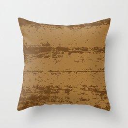 Wood Grain Background Throw Pillow