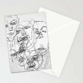 Faces #3 Stationery Cards