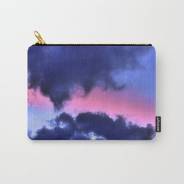 Clouds - Twilight Summer #1 #sunset #decor #art #society6 Carry-All Pouch