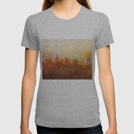 Atlanta, Georgia Skyline - In the Clouds T-shirt