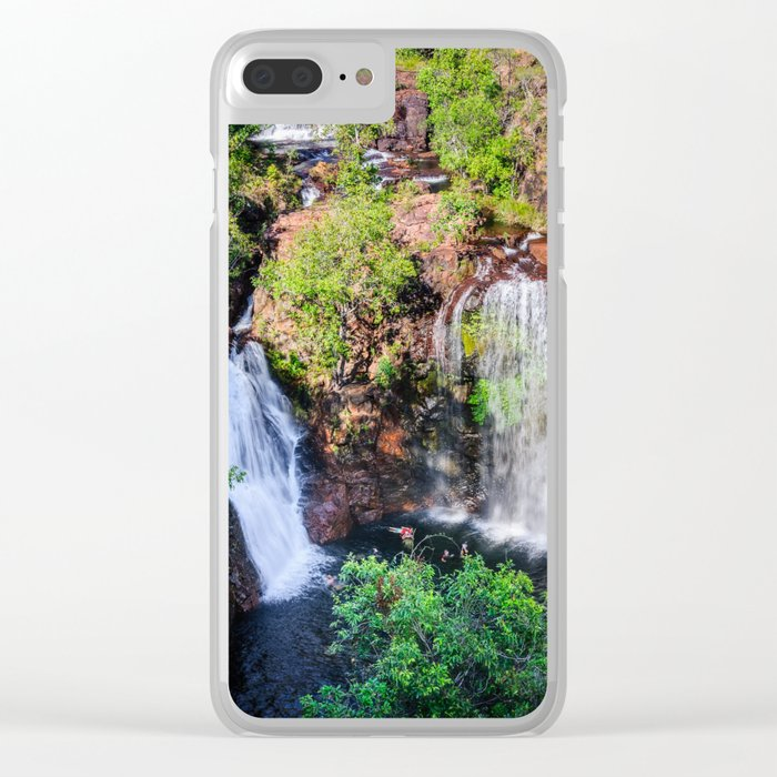 Florence Falls - view from above-NT, Australia Clear iPhone Case