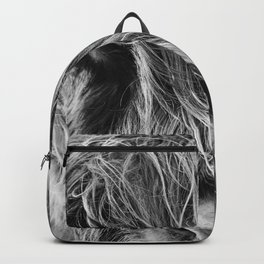 Highland cow print Backpack