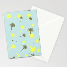 Palm trees fun Stationery Cards