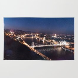 NIGHT TIME IN BUDAPEST Rug