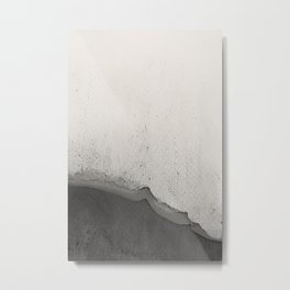 Abstract black watercolor 2 Metal Print