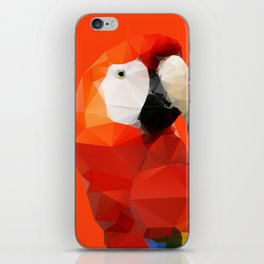 Geo - Parrot red iPhone Skin
