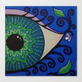 Eye of the Mandala Canvas Print