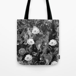 Watercolors Floral Pattern Tote Bag