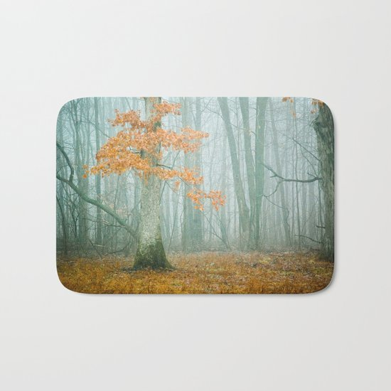 Autumn Woods Bath Mat