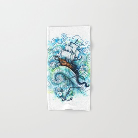 Long Journey Hand & Bath Towel