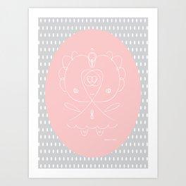 Girlie Girl II Art Print