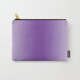 Pastel Violet to Violet Vertical Bilinear Gradient Carry-All Pouch