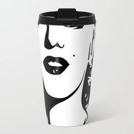 Marilyn Drawing Monroe Travel Mug