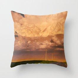 Dust Storm Throw Pillow