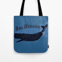 Sag Harbor Whale Tote Bag