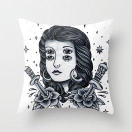 Doble. Throw Pillow