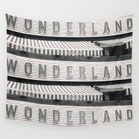 wonderland Wall Tapestries featuring Wonderland by Stephan Parylak