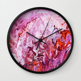 Magenta Series 2 Wall Clock