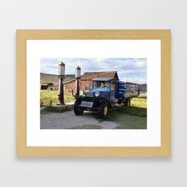 Fill 'er Up Framed Art Print