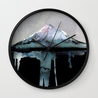 island Wall Clocks featuring The Island | by Dylan Silva & Georgiana Paraschiv by Georgiana Paraschiv