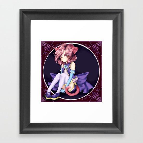 Catgirl Framed Art Print