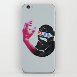 Now in Eye-Popping 3D! iPhone Skin