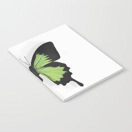 Botanical Bufferfly Green Notebook