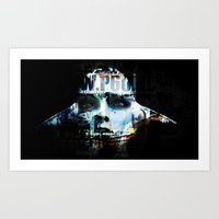 android Art Prints featuring Android by Studio46