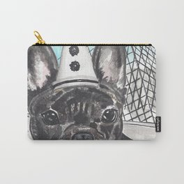 Roscoe the French Clown Carry-All Pouch