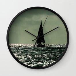 Sailboat Mexico Wall Clock