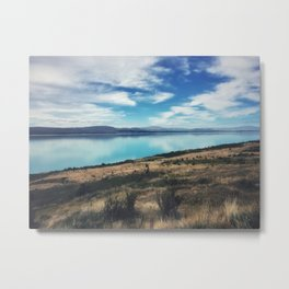 Lake Pukaki Metal Print