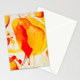 Orange Study Stationery Cards