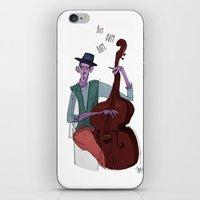 cello iPhone & iPod Skins featuring Smooth Cello by Erin Eng