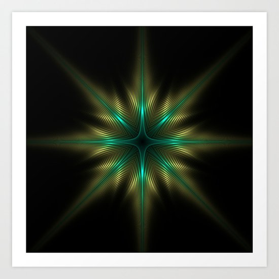 Glowing One Art Print
