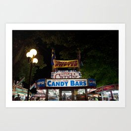 Iowa State Fair Art Print