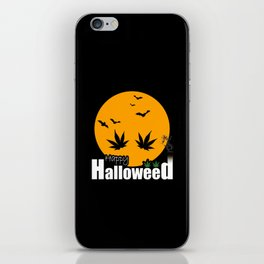Happy Halloweed iPhone Skin