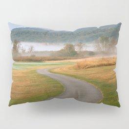 Misty Dawn Golf Course Pillow Sham