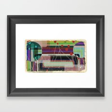 Casette Music 1981 Framed Art Print