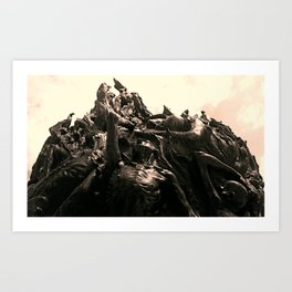 BLTMR Art Print