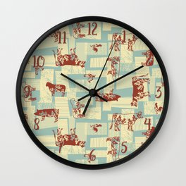 Farm Animals - Classic Country Wall Clock
