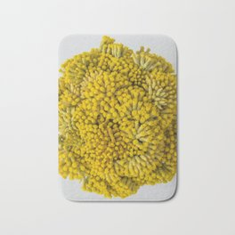 curry flowers II Bath Mat