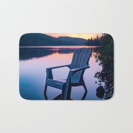 Sunsets & Summer Nights at the Cottage Bath Mat