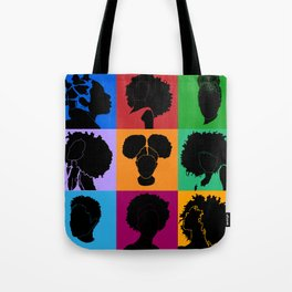 FOR COLORED GIRLS COLLECTION COLLAGE Tote Bag