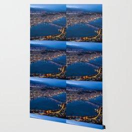 Panoramic Tromso Wallpaper
